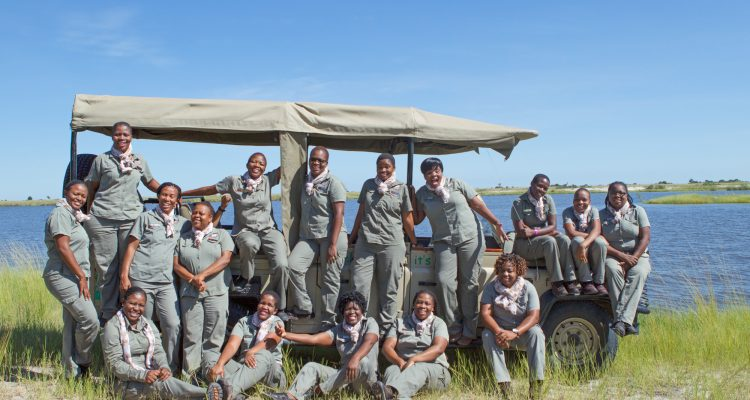 All-Female Guiding Team at Chobe Game Lodge in the Chobe National Park