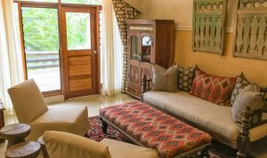 The new triple rooms at Chobe Game Lodge