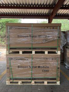 Solar panel project at Chobe Game Lodge