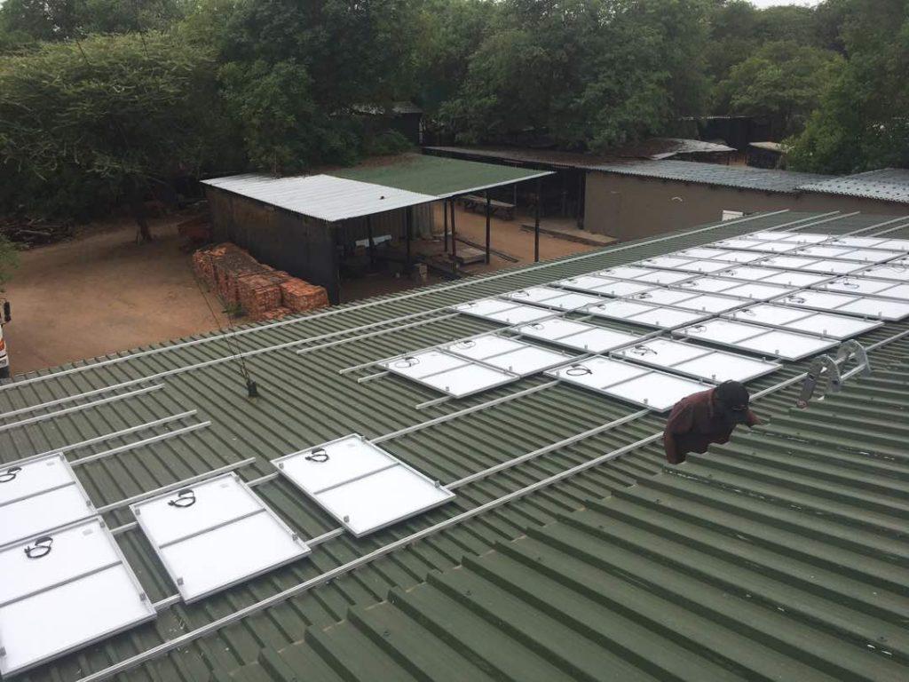 Solar project at Chobe Game Lodge