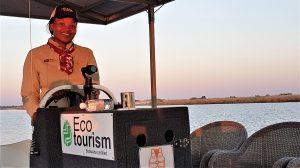 Electric river safari with Chobe Game Lodge