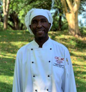 Executive Chef Chris Xhaute at Chobe Game Lodge