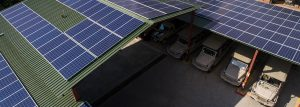 Chobe Game Lodge solar panels and green energy in Botswana